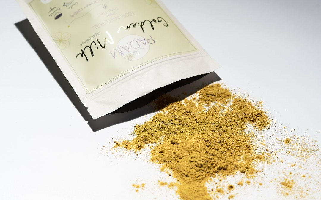Leche dorada, poderosa y milagrosa para pacientes con endometriosis.