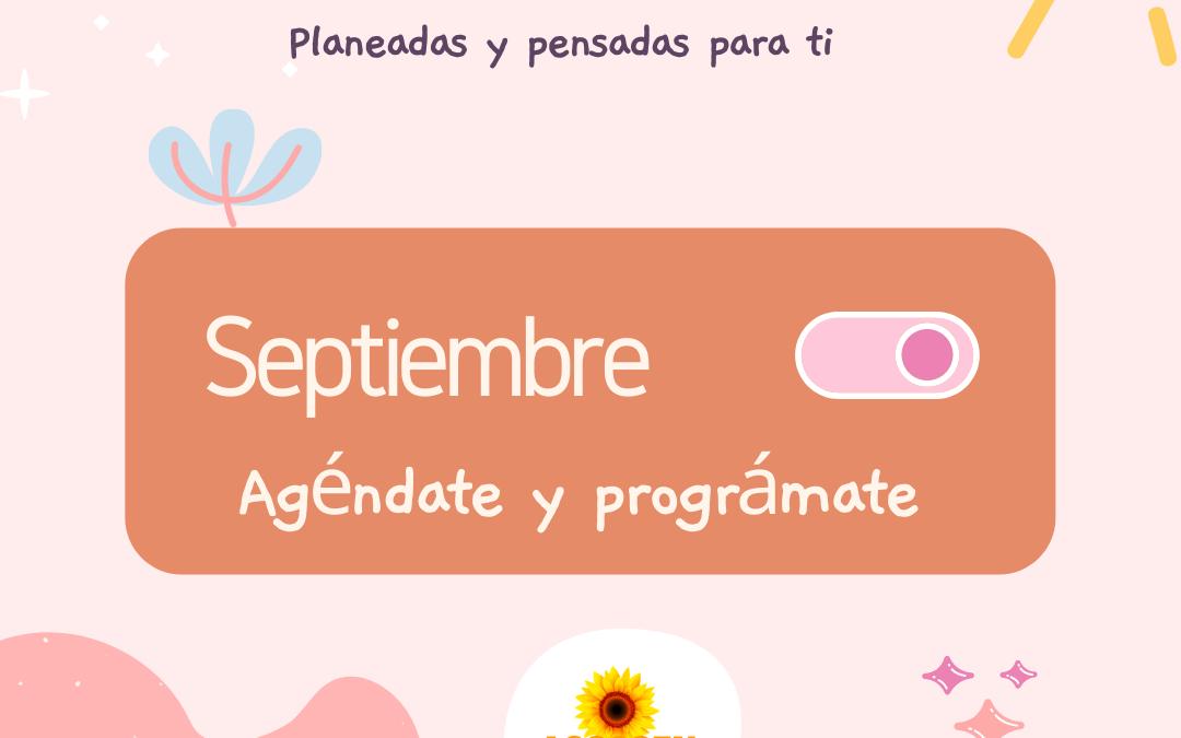 Actividades en el mes de Septiembre
